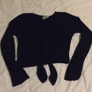 Nollie Cardigan- Button/Tie Front